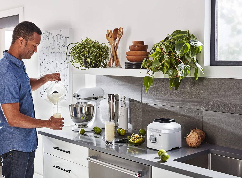 Kitchenaid K400 Blender White Nezmart