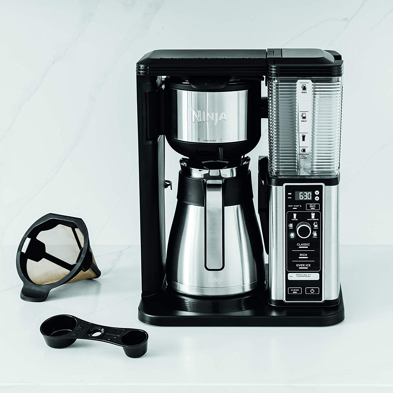 Ninja Specialty Fold-Away Frother (CM407) Coffee Maker ...
